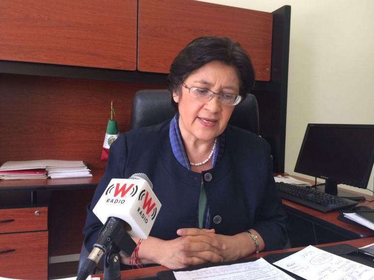 María Teresa Brito Serrano Contralora del Estado