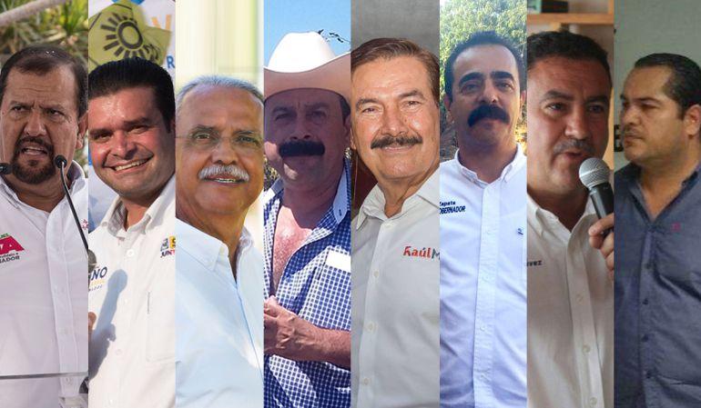 Candidatos al gobierno de Nayarit