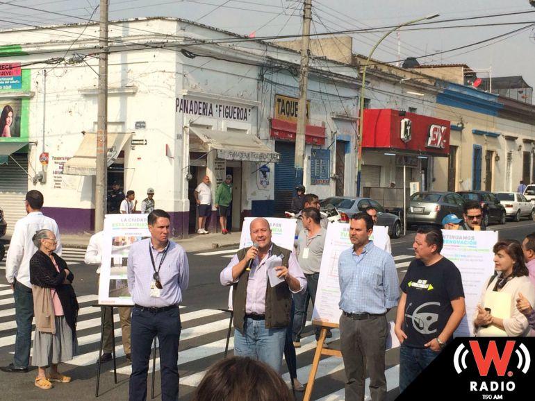 Defectos en obras de repavimentación atrasan inauguración en colonia La Capilla