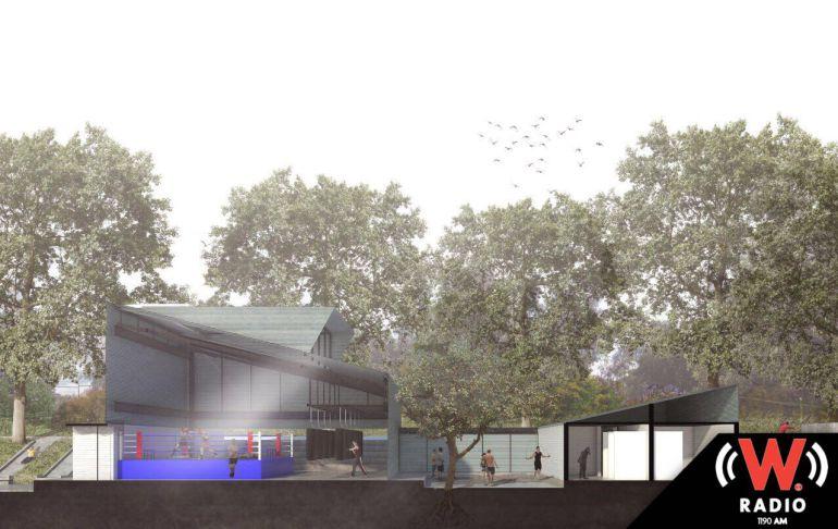 Arranca remodelación del gimnasio de box de la colonia Infonavit Estadio