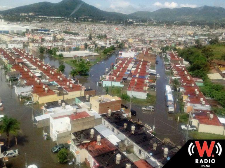 Con ayuda de presas, Tlajomulco pretende mitigar inundaciones en la Zona Valles