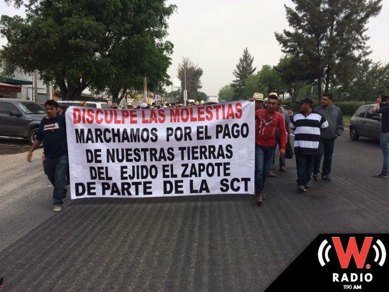 SGG llama al dialogo a ejidatarios de El Zapote que se manifestarán en el aeropuerto