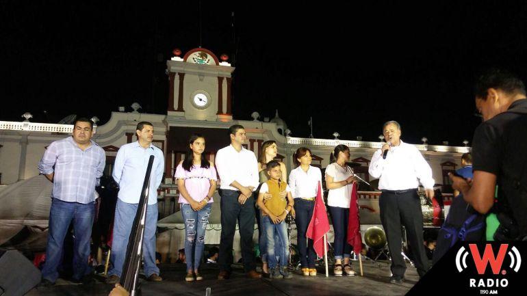 Simpatizantes festejan virtual triunfo de coalición PAN-PRD, PT, PRS