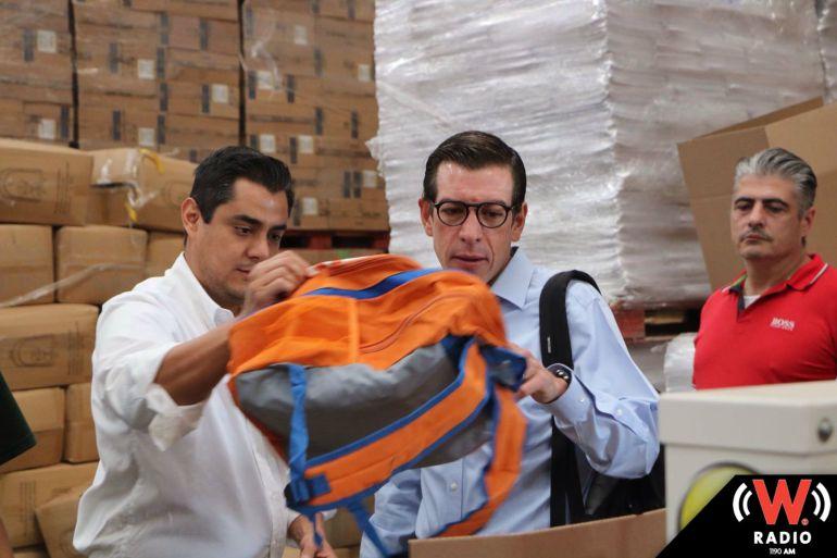 SEDIS pide no condicionar la entrega de mochilas escolares con fines electorales