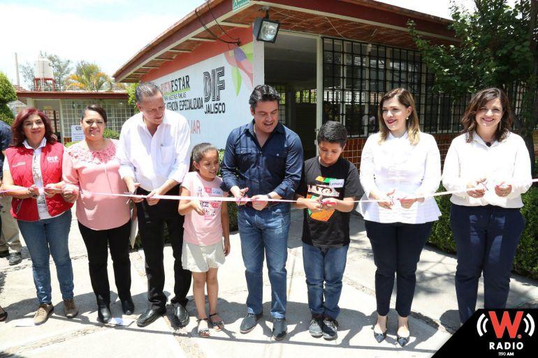 Aristóteles Sandoval inaugura Centro de Asistencia Infantil Comunitario en Villa Hidalgo