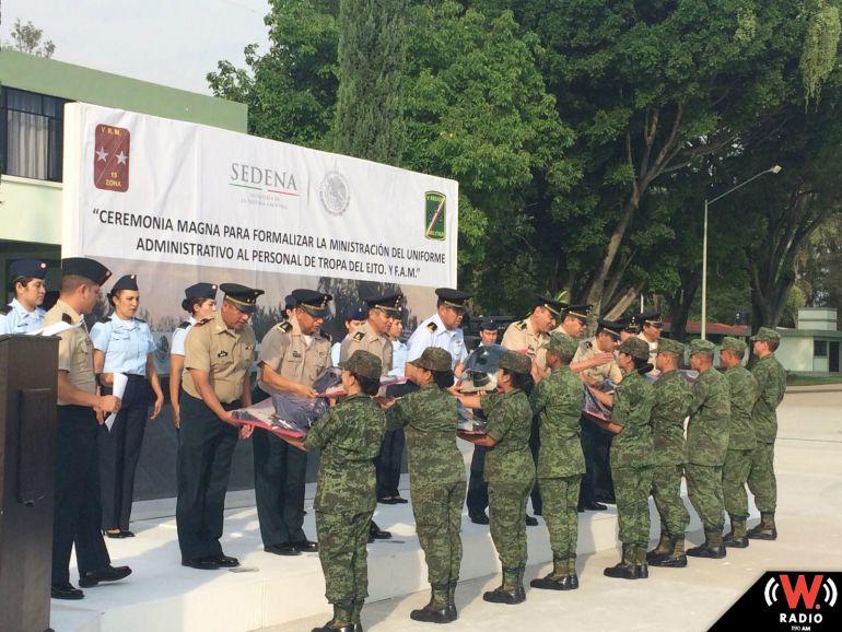 Personal de tropa podrá usar uniformes de generales de la SEDENA