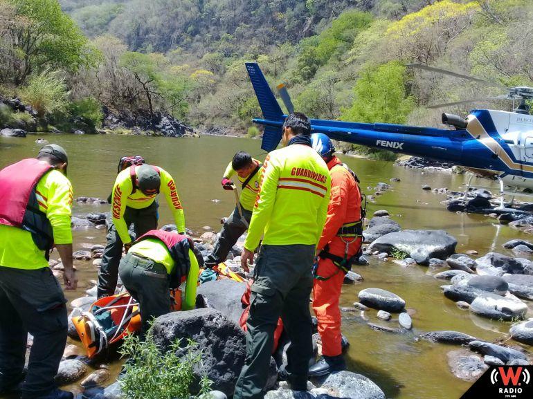 Encuentran los cadáveres de los pescadores desaparecidos en el río de Acatic