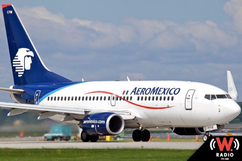 La aeronave tuvo que abandonar la pista para bajar a los afectados