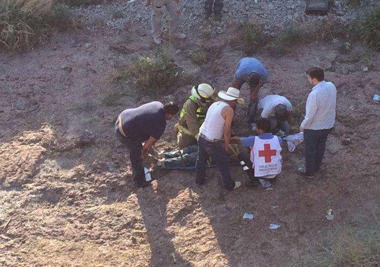 Personal del Servicio Médico Forense se encargó de retirar los restos del pequeño