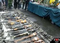 Programa de canje recopila más de 400 armas