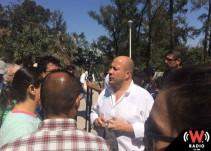Confía Alfaro en que pronto terminarán los juicios contra el colector del parque San Rafael