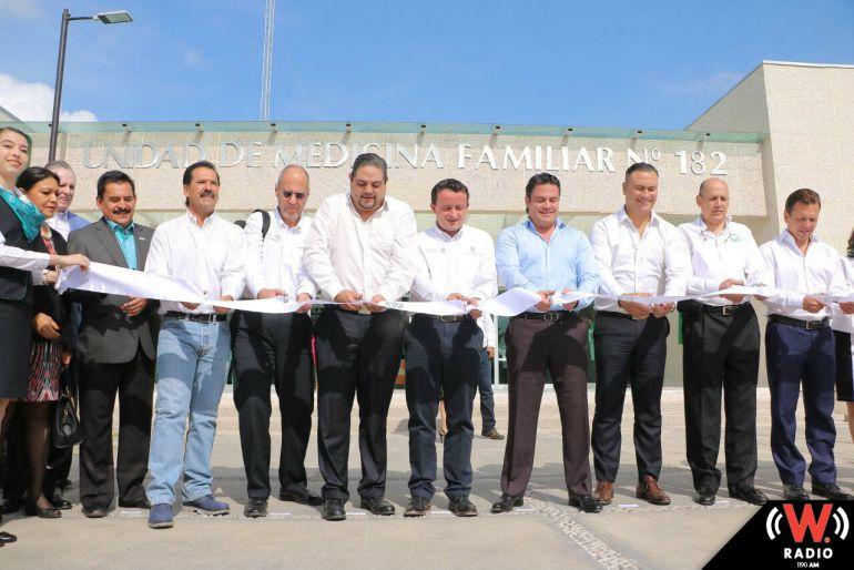 Inaugura unidad médica del IMSS en Tesistán