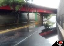 Lluvia deja afectaciones en calles de Zapopan