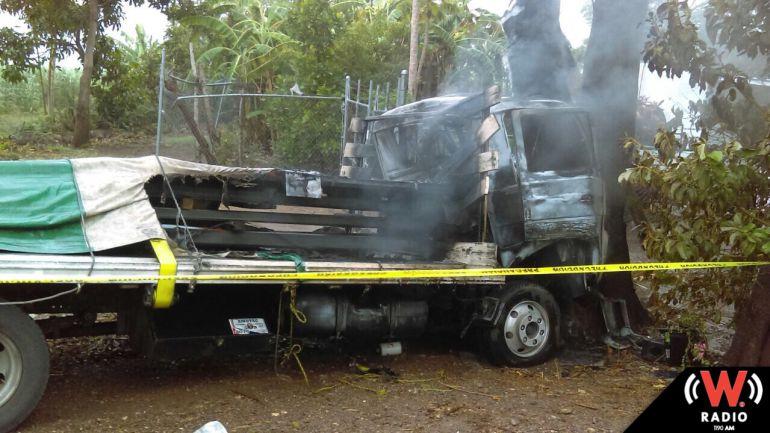 Fallece conductor de camión de carga en El Grullo