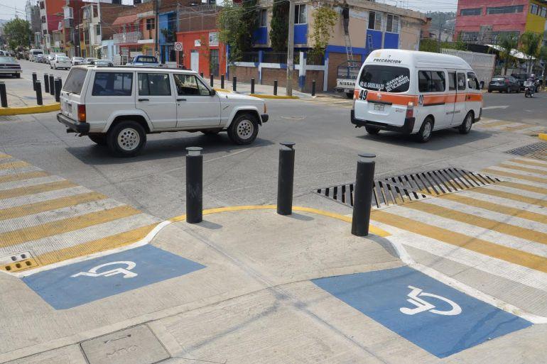 Asegura Guadalajara que remodelación de calles se hace con infraestructura incluyente
