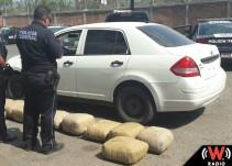 Incautan más de 150 kilos de marihuana en Jalisco