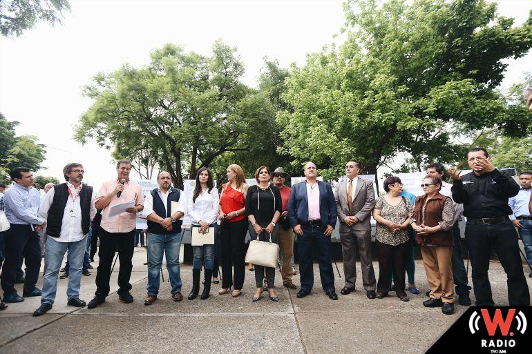 Anuncian obras en el parque El Refugio y renuevan calles aledañas