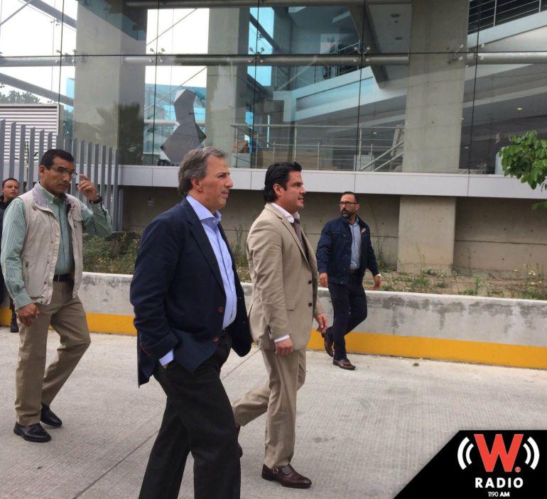 Se reúnen empresarios con Jorge Aristóteles Sandoval y el secretario de Hacienda