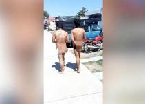 Vecinos de Tlajomulco obligan a caminar desnudos a supuestos rateros