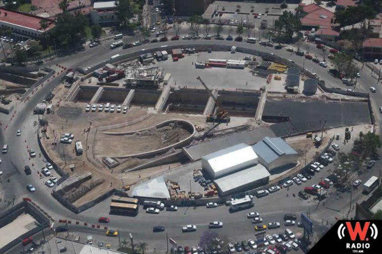 Cerrarán avenidas importantes por obras de la L3