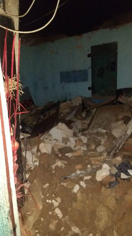Seis personas resultaron lesionadas por el desplome de una bóveda