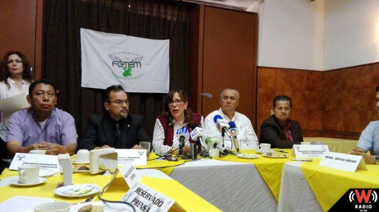 Sindicato de la FGTEM se solidariza con maestros del Colegio de Bachilleres