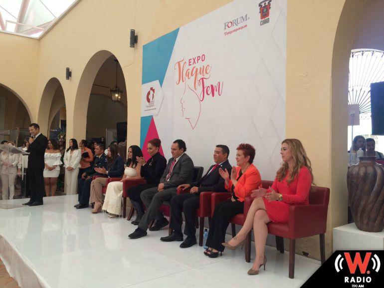 Arranca la primera Expo Tlaquepaque Fem donde participan 60 mujeres empresarias