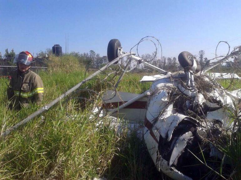 Localizan cuerpo del segundo pasajero de avioneta que se estrelló en Tlajomulco