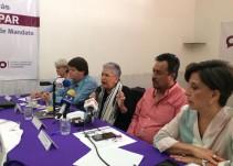 Informan pormenores de la consulta de ratificación de Alfaro