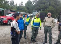 Rescatan a joven perdido en el Parque Nacional del Volcán de Colima