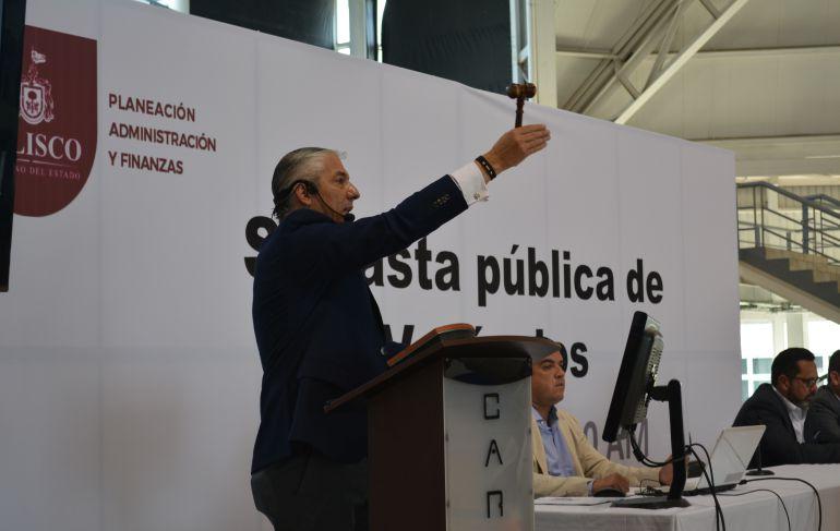 Gobierno de Jalisco vende 255 vehículos