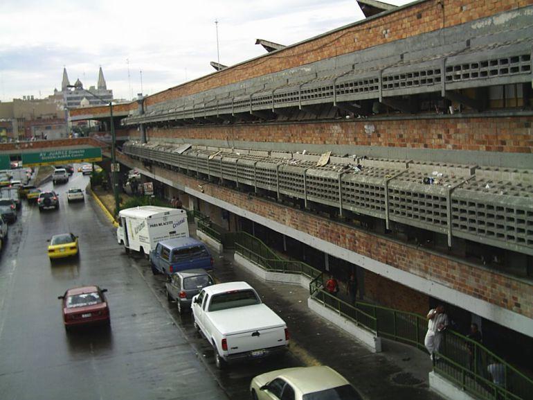 Remodelan el mercado de Javier Mina