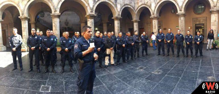 Comandantes respaldan al comisario de Guadalajara tras protestas en su contra