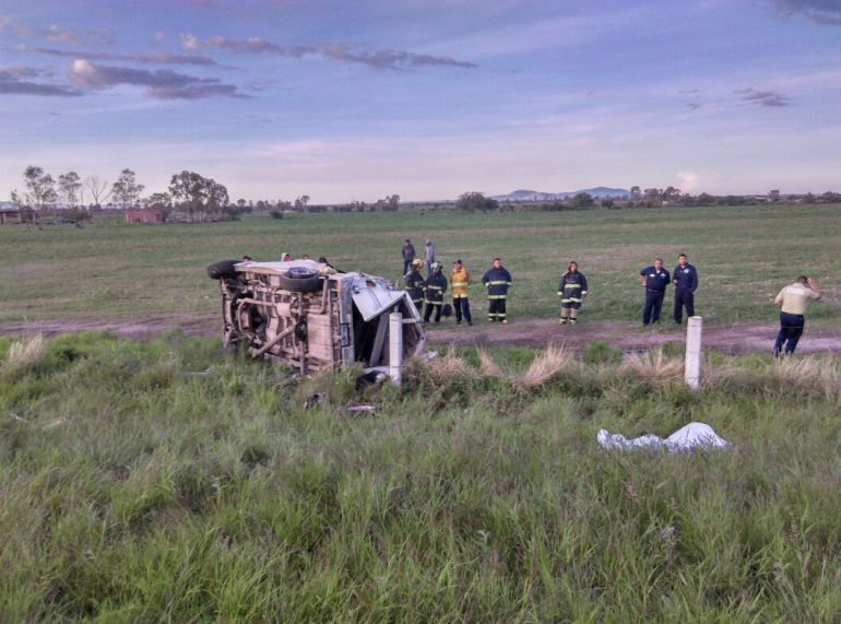 Fatal accidente cobra la vida de cinco personas en El Llano