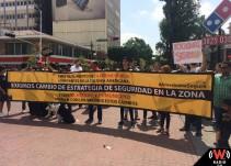 Vecinos de Chapultepec exigen un alto a la delincuencia en la zona