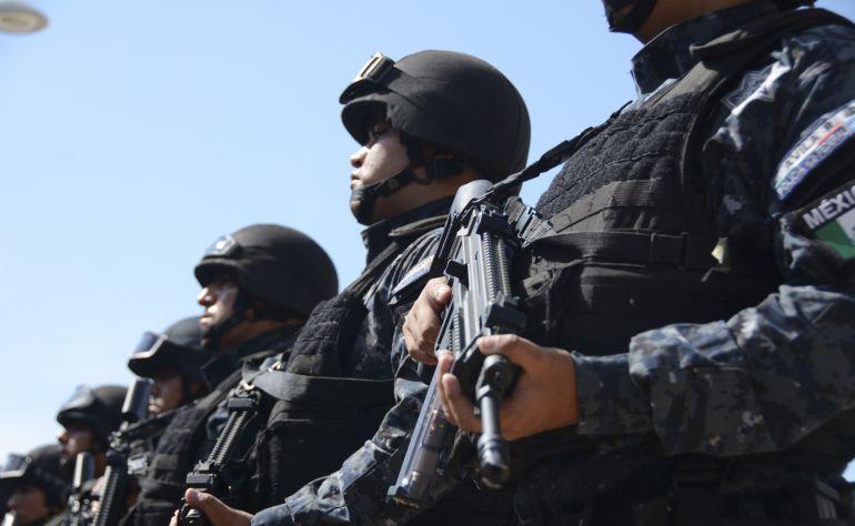 Policía Federal y SEMAR realizan operativo en un domicilio de Zapopan