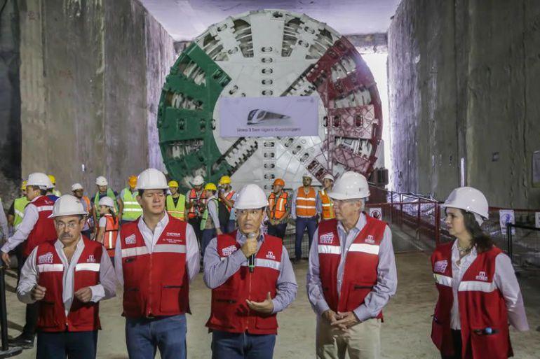 En 2 días reanudarán trabajo la tuneladora