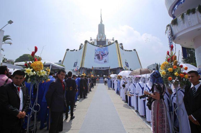 SS alista operativo para la Santa Convocatoria de la Iglesia de la Luz del Mundo