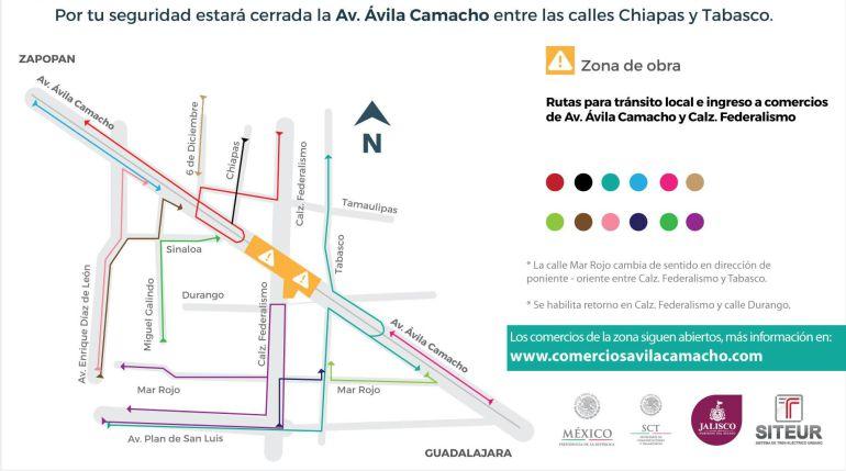 Cierran Ávila Camacho y Federalismo por obras de la L3