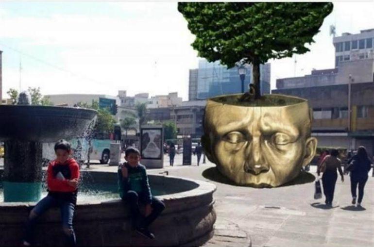 Alfonso Petersen presenta iniciativa para transparentar gastos por escultura de José Fors
