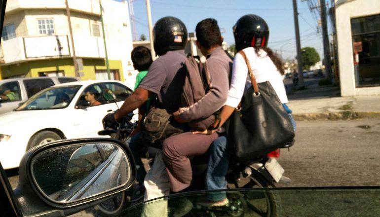Proponen a reducir a un pasajero por motocicleta en ciertas vialidades