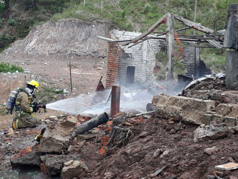 Explota fábrica de cohetes en Zapopan