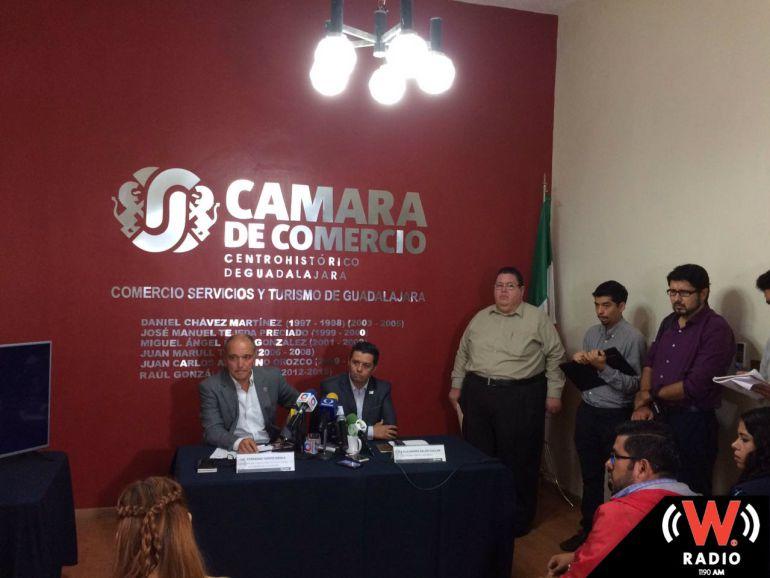 Canaco exhorta a gobierno estatal y municipal a trabajar en conjunto contra la inseguridad