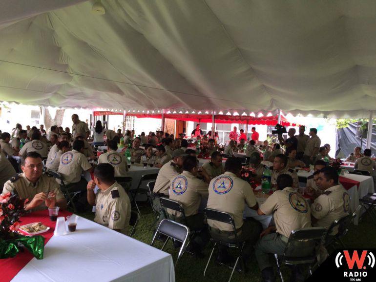 Protección Civil Jalisco celebra el Día Nacional del Bombero