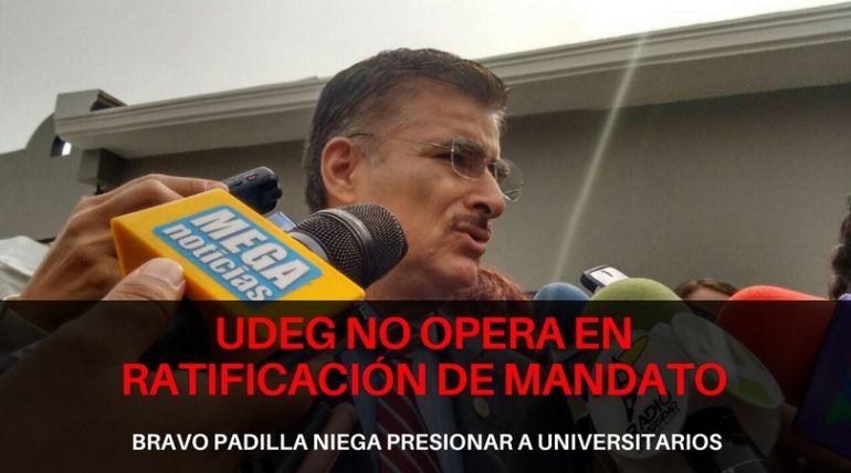 UdeG rechaza presionar a estudiantes a participar en la ratificación de mandato