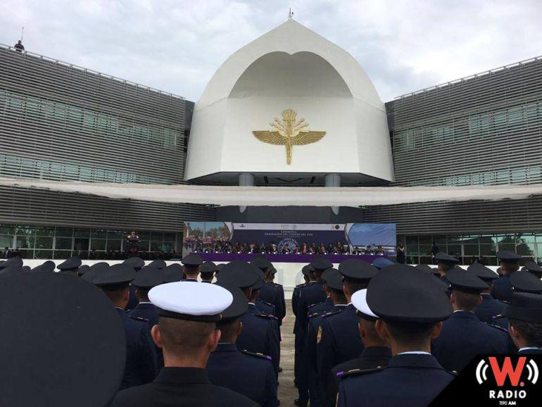 Habrá exhibición aérea del ejército nacional.