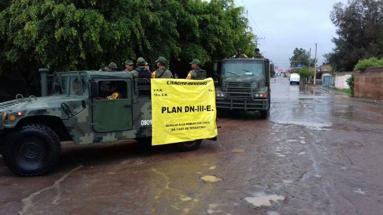 Implementan Plan DN-III en tres municipios de Jalisco