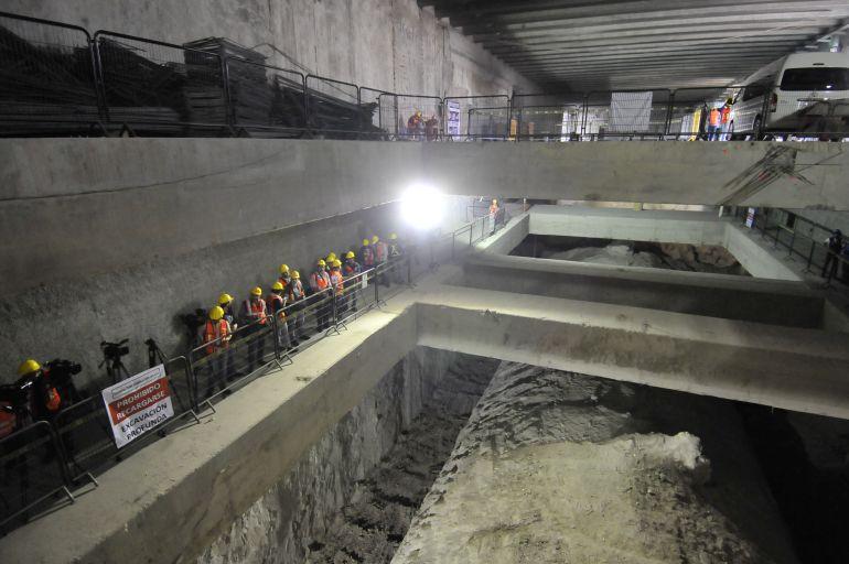 Obra civil de la Línea Tres lleva 80% de avance