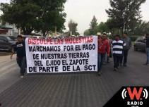Ejidatarios de El Zapote de nuevo tomarán las instalaciones del AIG