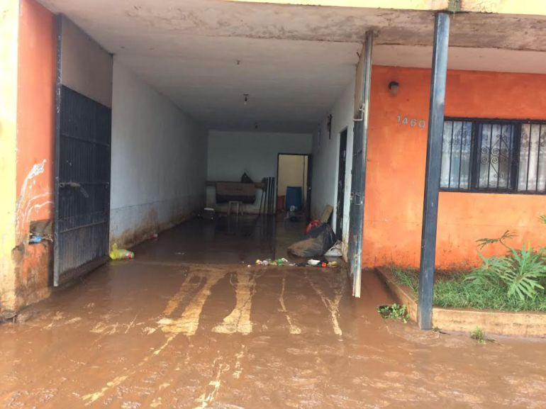 Lluvias causa daños en viviendas de Tepatitlán